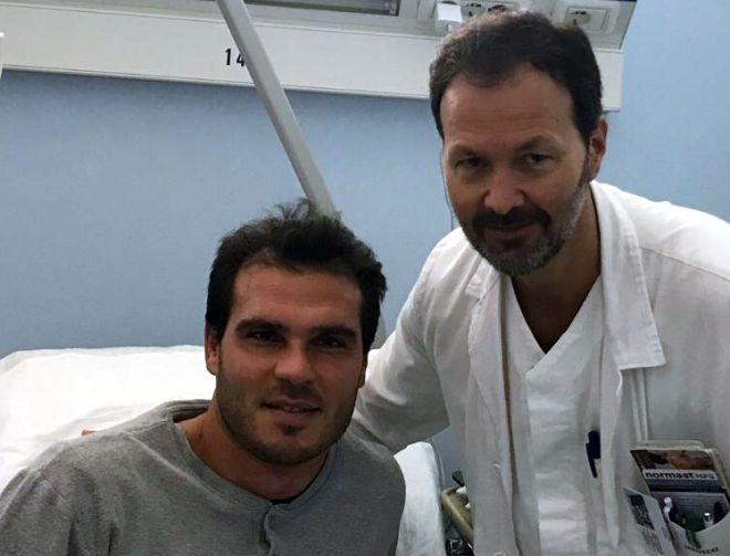FC Vigor Senigallia, ok Argentati! Riuscito l'intervento al ginocchio - marcheingol.it